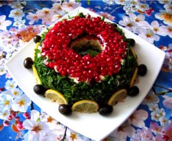salat granatovij braslet recept