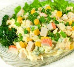 krabovij salat recept