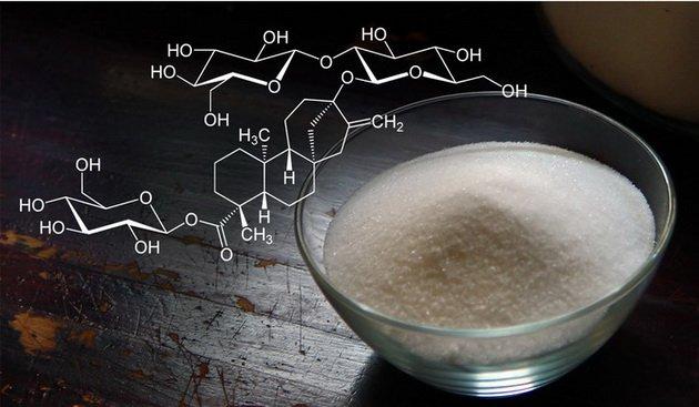 Химический состав стевиозида