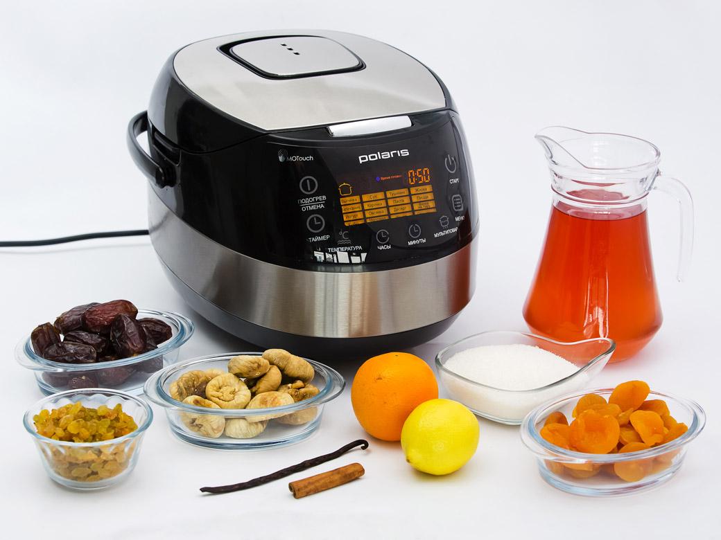рецепты для мультиварки polaris компот с абрикосами