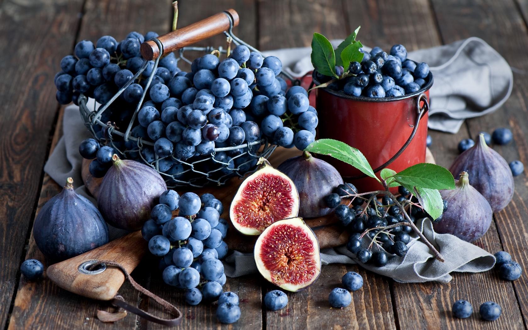 Инжирное варенье с виноградом