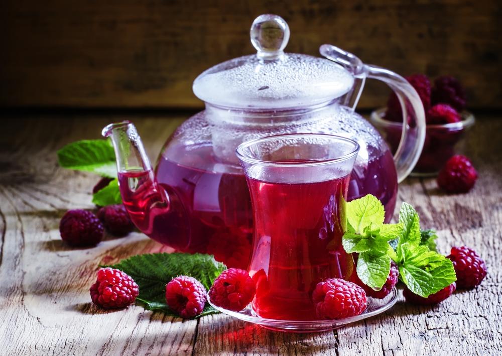 Малиновый чай при похудении и для здоровья