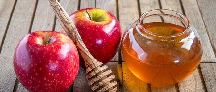 Полезный компот из яблок с мёдом
