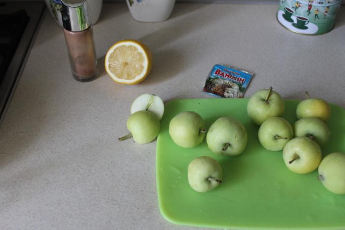 Подготовка яблок к компоту